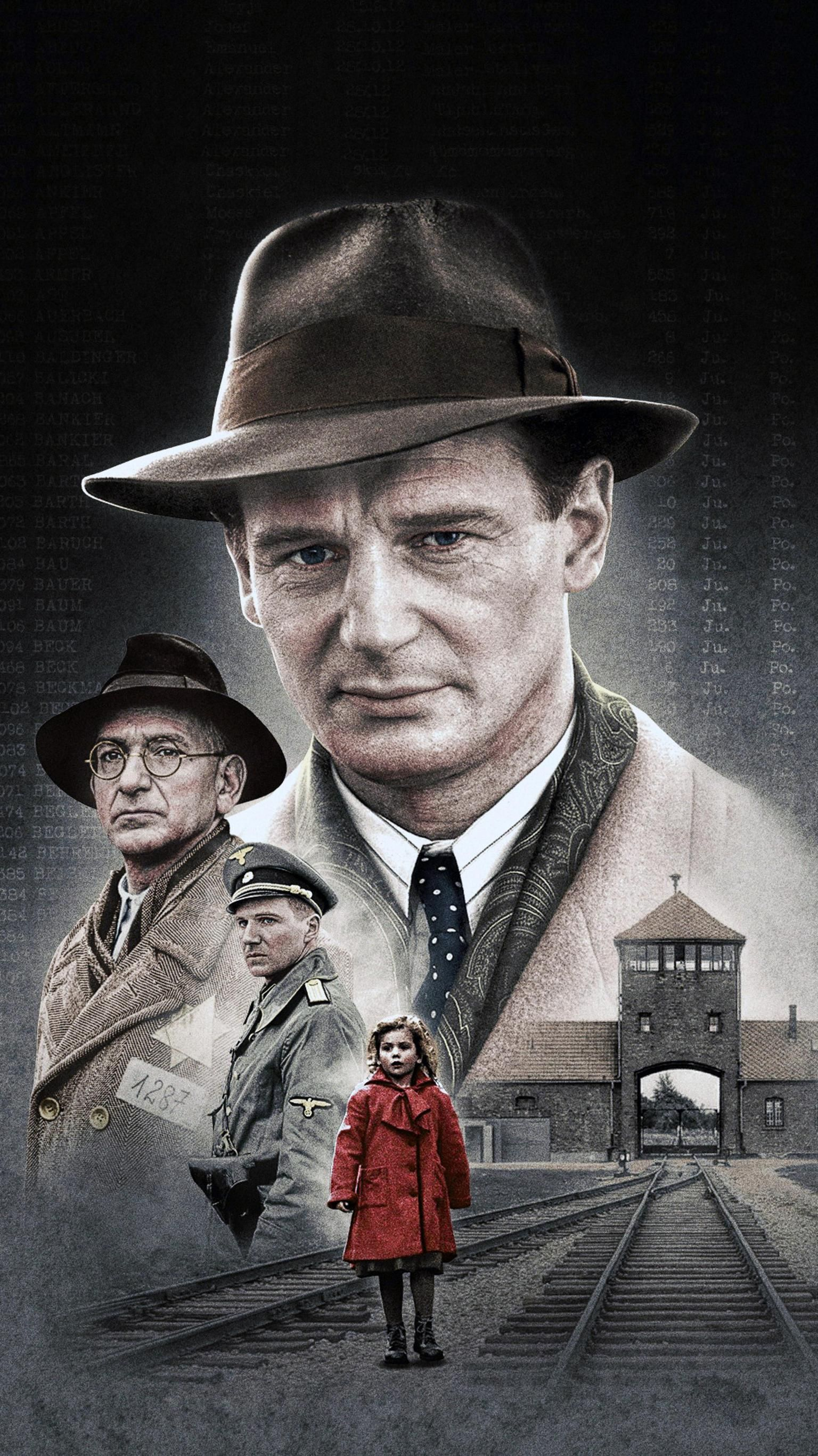 Schindler's List (1993) Phone Wallpaper | Moviemania