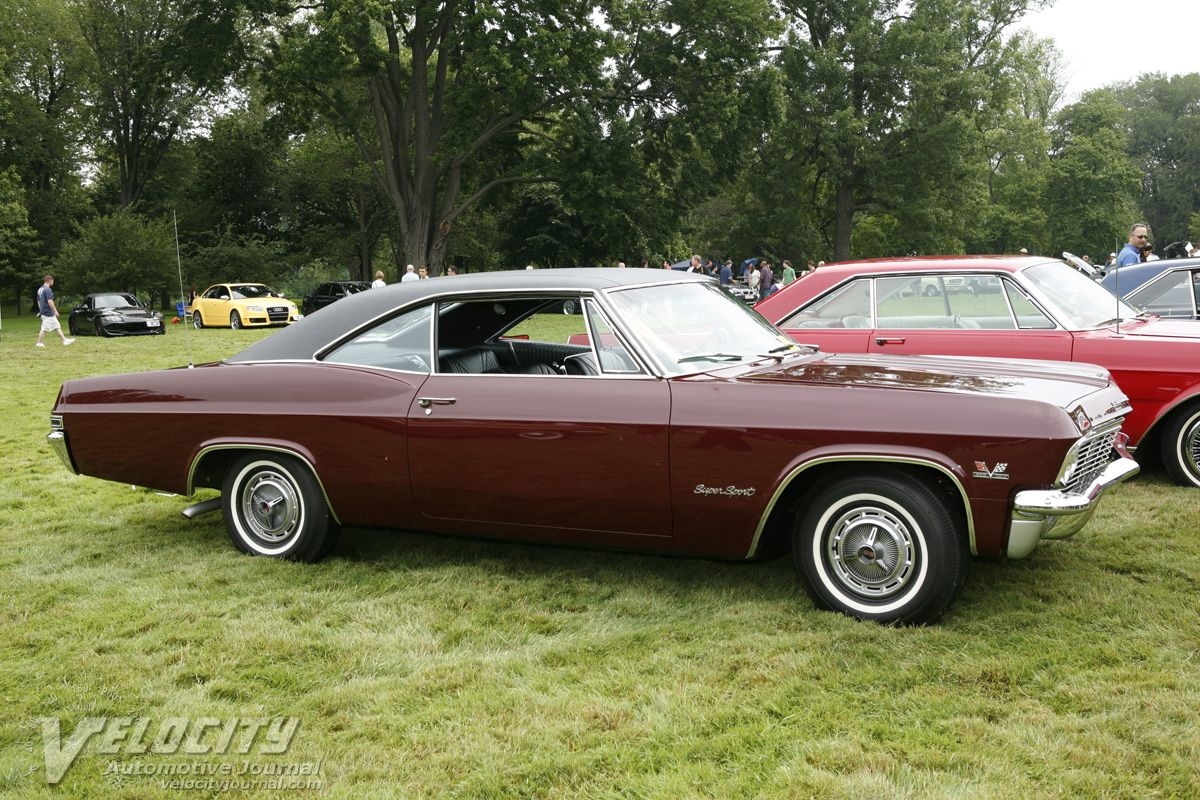 1965 chevrolet impala ss in madeira maroon