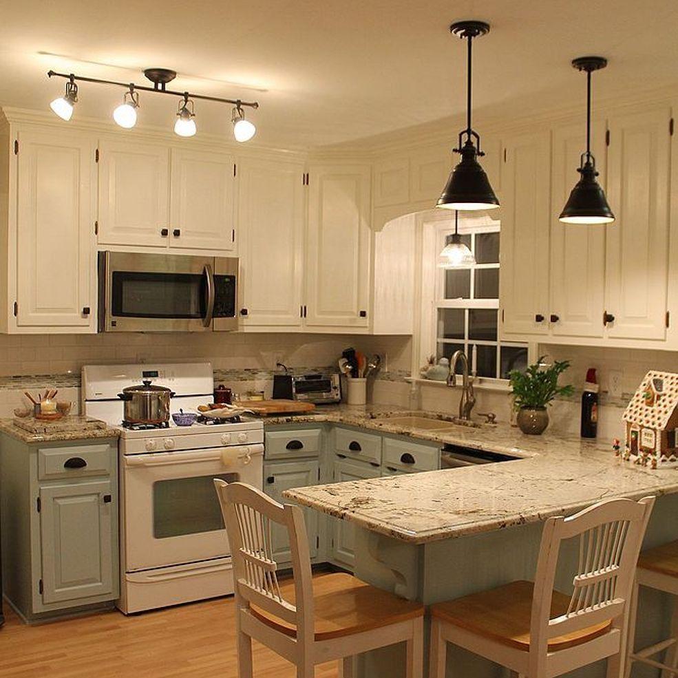 White Kitchen Renovation: Kitchen Remodel, Two