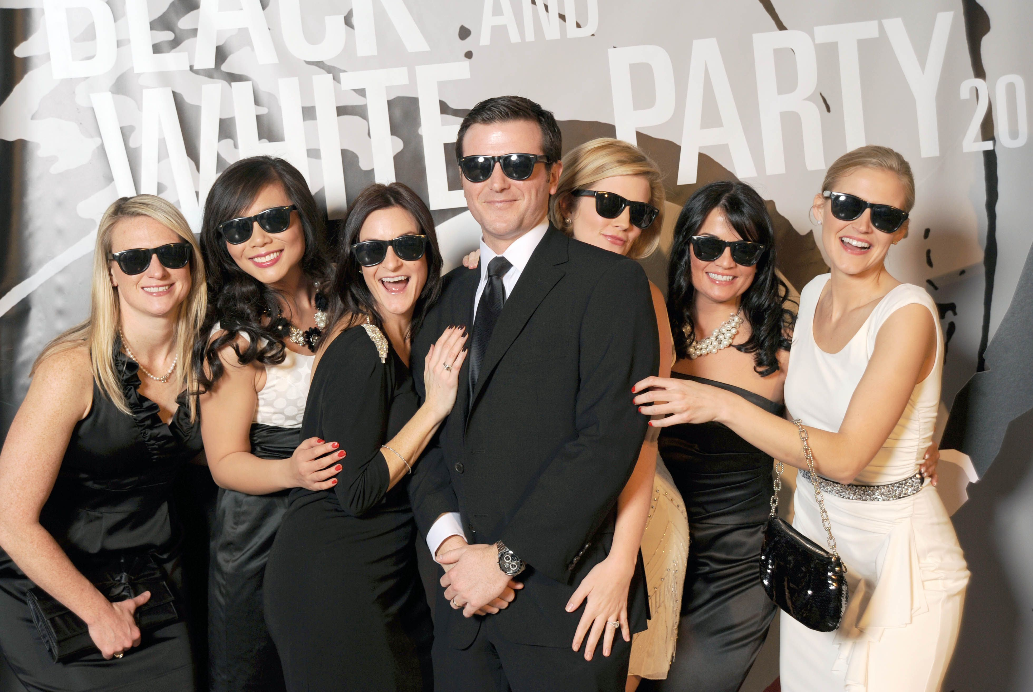 Gallery Of Black And White Party Dress Code