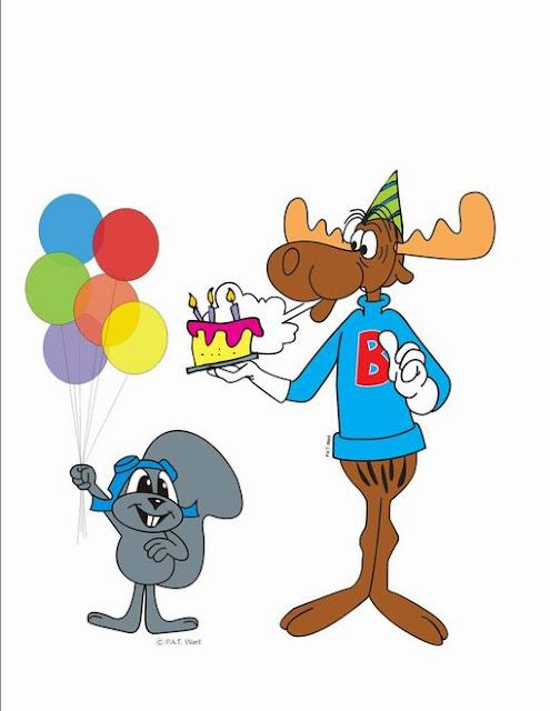 Rocky And Bullwinkle Favorite Cartoon Character Vintage Cartoon