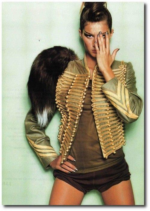 Gisele Bundchen in  Vogue Paris' June-July 2012
