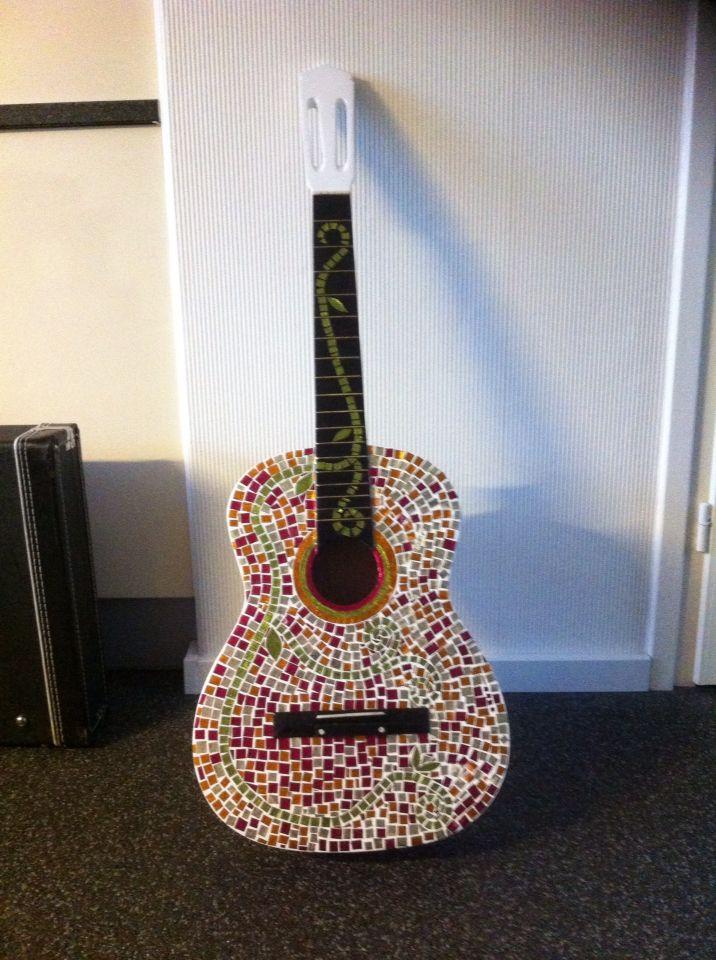 Mozaiek gitaar
