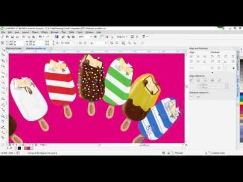 Create A Web Design With Coreldraw X7 Speed Drawing Desain Web Desain Aplikasi