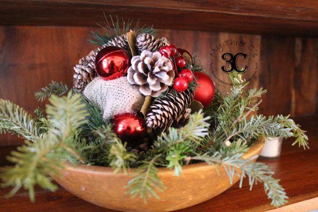 Rustic European Christmas Home Décor Antique, Vintage, Thrift Store - christmas home decor