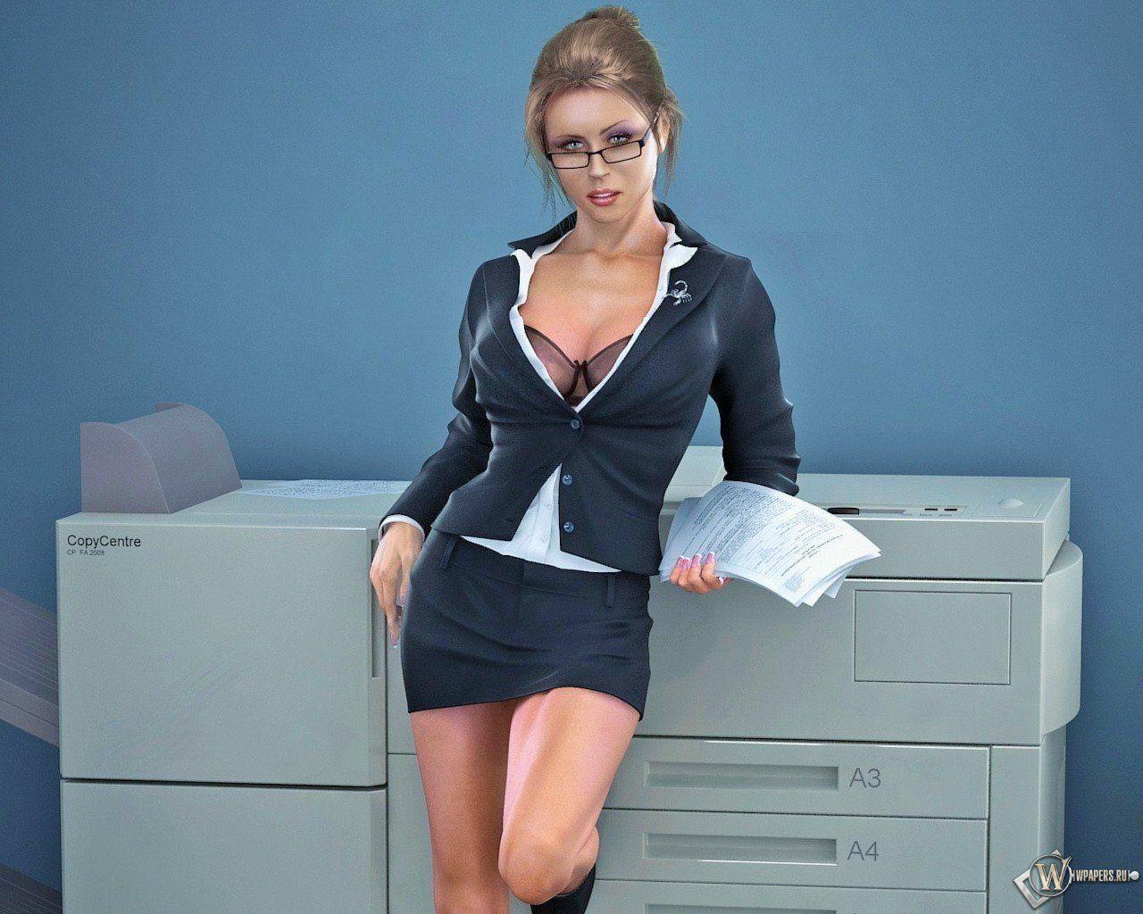 Free Sexy Secretary Pics seductive   3d seductive secretary free pictures on your