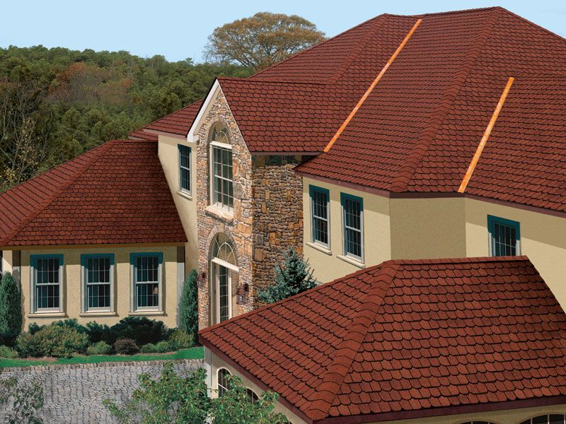 Victorian Red #gaf #designer #roof #shingles #home | General Roofing Systems