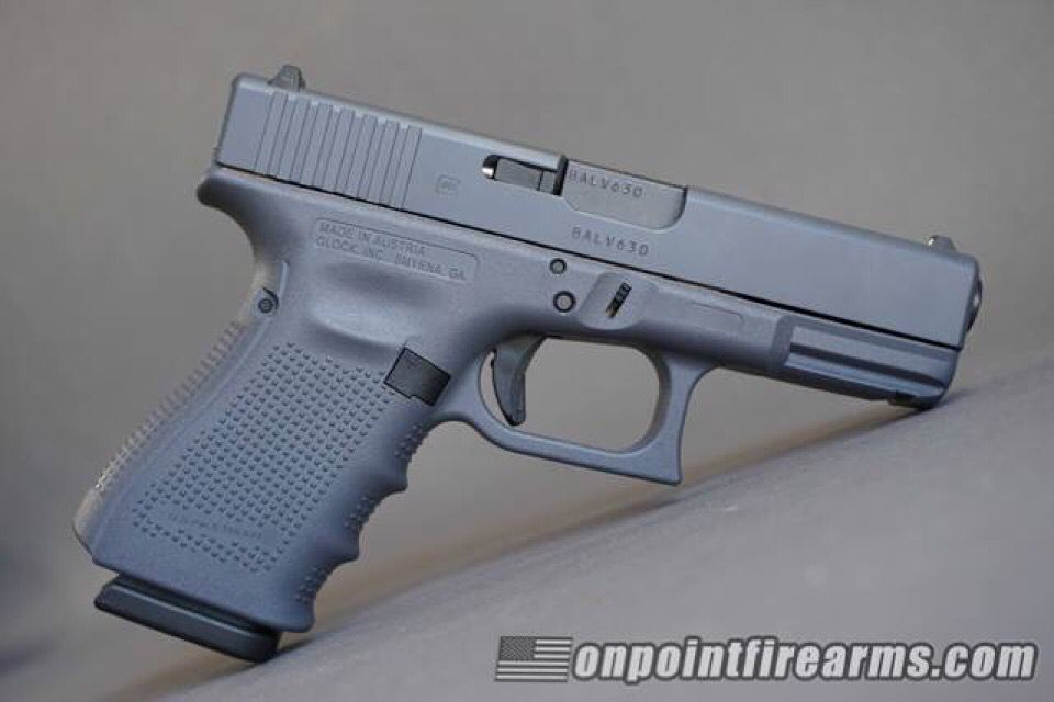 Glock 23 Full Grey Cerakote Semi Auto Pistols Guns