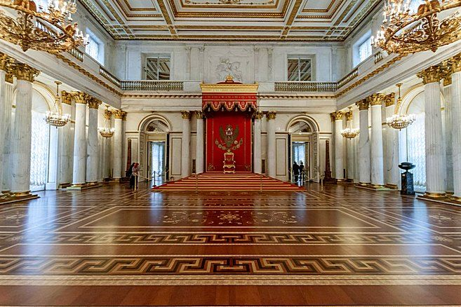 Inside the Winter Palace | St. Petersburg Russia ...