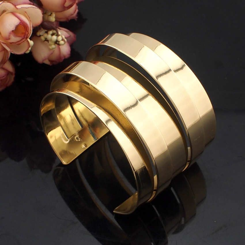 KMVEXO 2017 Big Statement Bridal Bracelets Bangles Exaggerate Cuff Bra –  KOREAIDOLFEVER  5558bfcdcf49