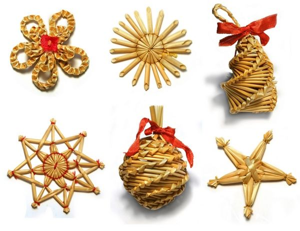 Pin By Marta On Decorations For Various Occasions Natural Christmas Ornaments Paper Christmas Ornaments Holiday Crafts