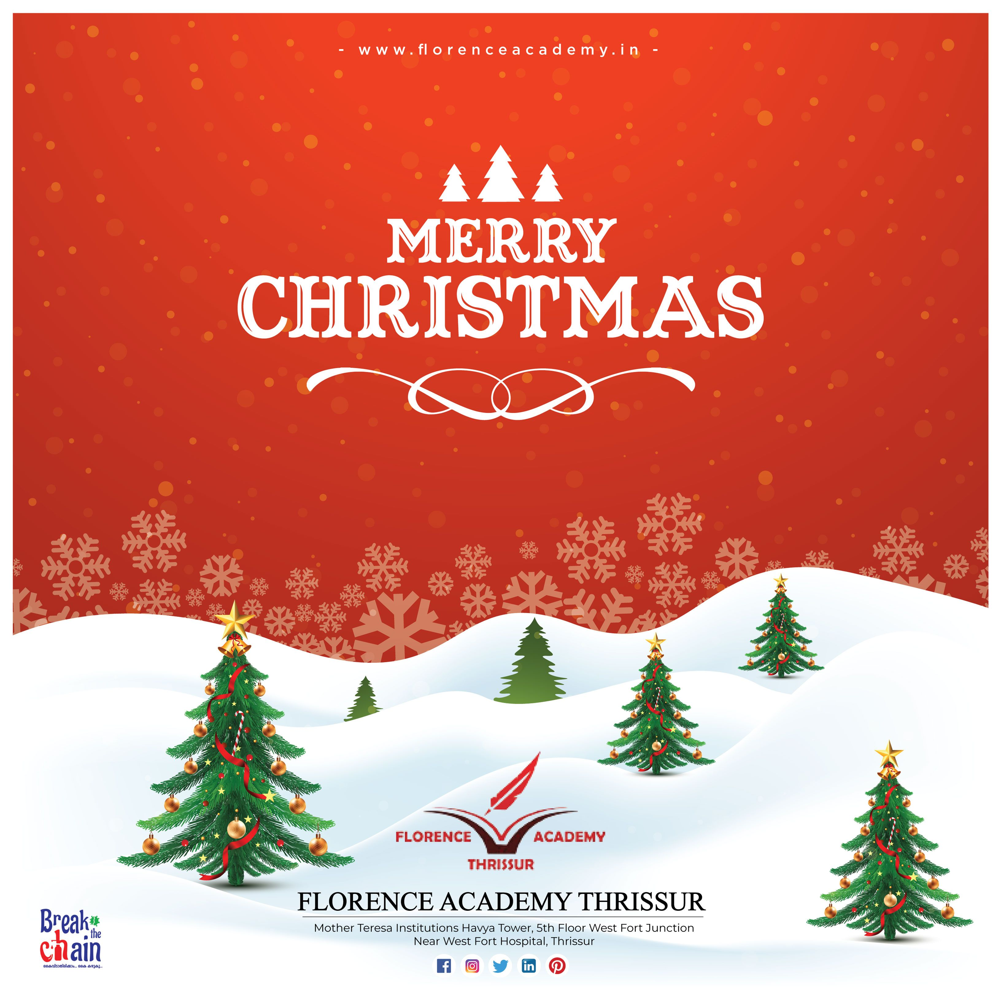 Academy Christmas Hours 2021 Enjoy This Christmas Season With The Ones You Love And Pursue Your Career Dreams In 2021 Florence Academy Wishes A Christmas Seasons Christmas Ornaments Merry