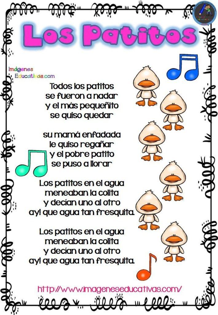 Las Mejores 23 Ideas De Canciones Infantiles Populares Canciones Infantiles Canciones Letras De Canciones Infantiles