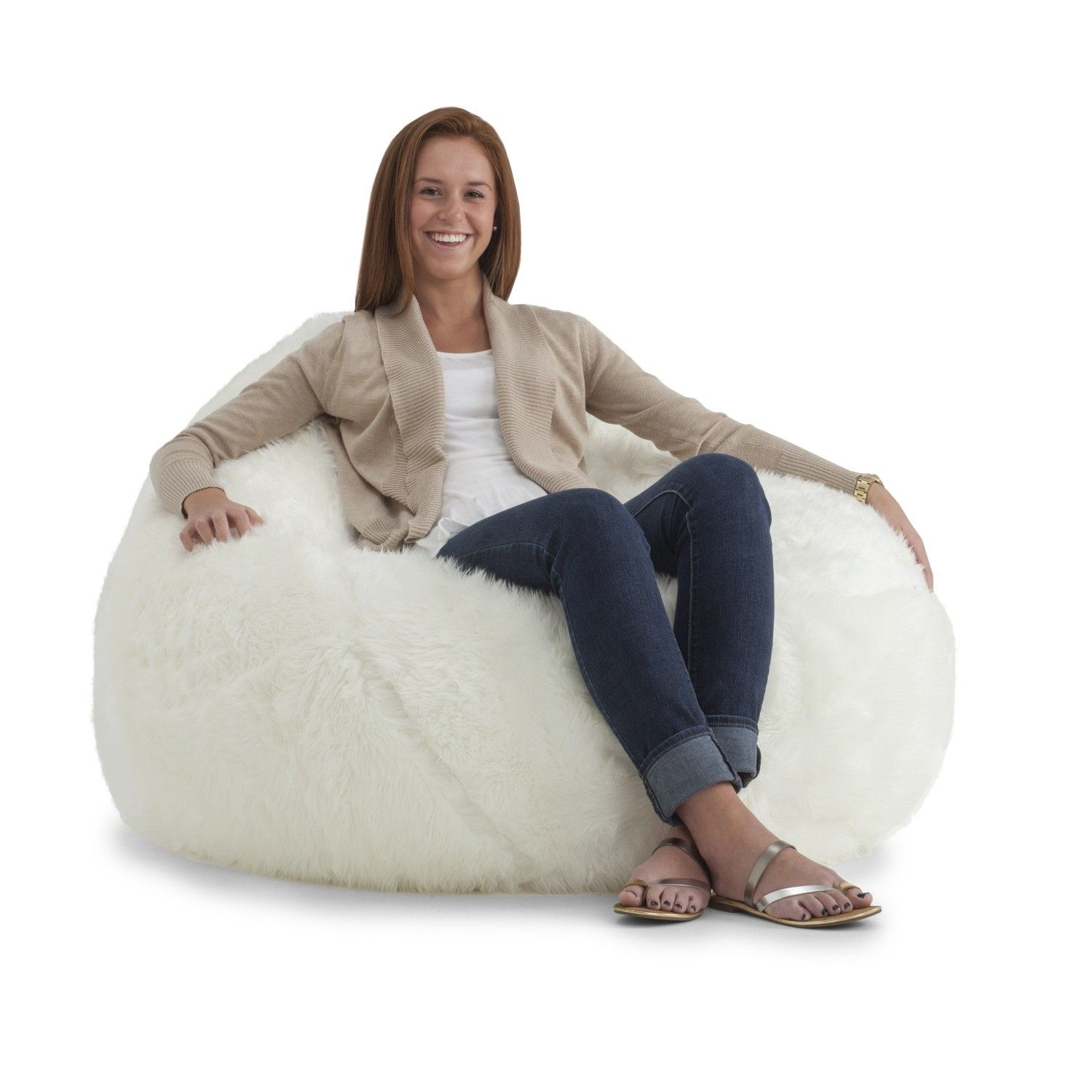 Pin by Allison NeCamp on For our house Bean bag, Fluffy