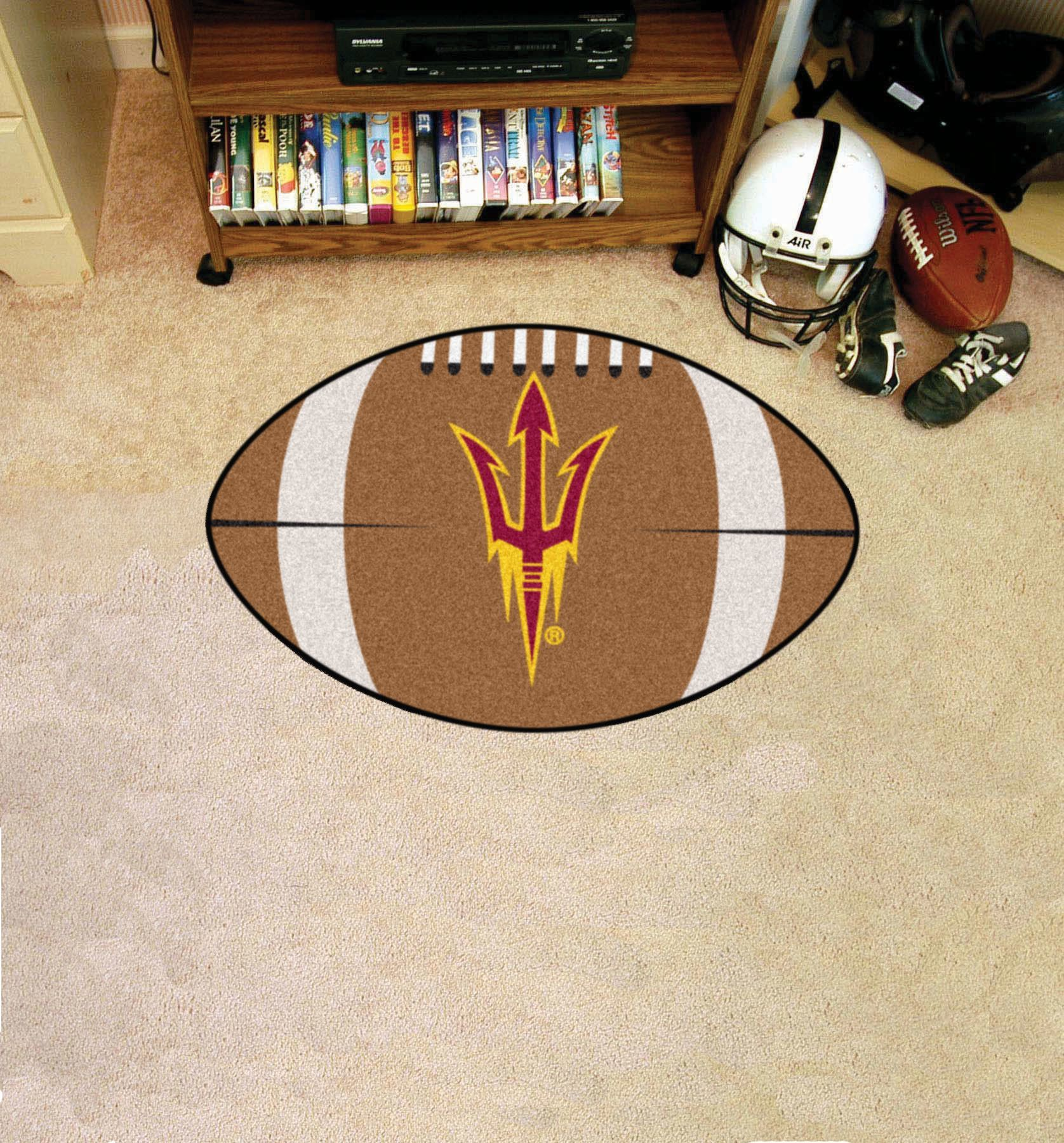 Collegiate Arizona State Football Area Rug