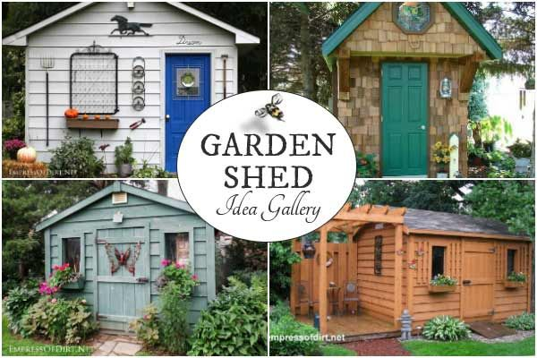 Charming Garden Sheds From Rustic to Modern Garden, Gardens and