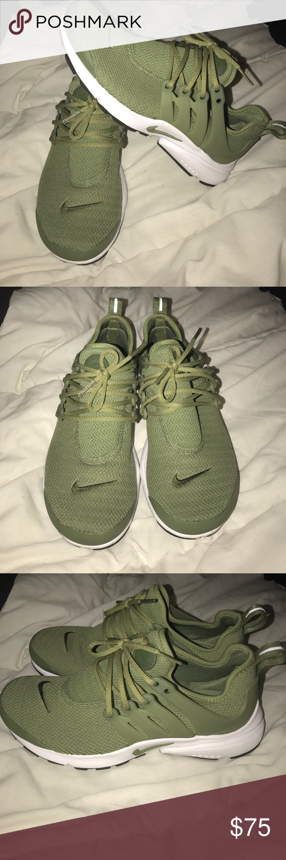 new style 3d305 9aec5 Women's Nike Air presto Beautiful olive green air prestos ...