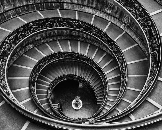 Best Vatican Staircase Spiral Staircase Art Geometric Art 400 x 300