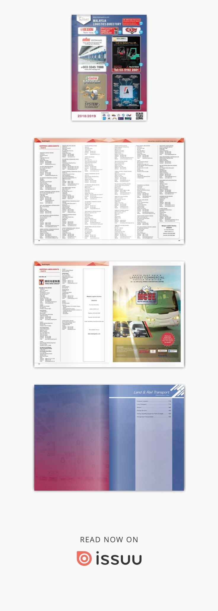 Malaysia Logistics Directory 2018/2019 | Logistic | Transport