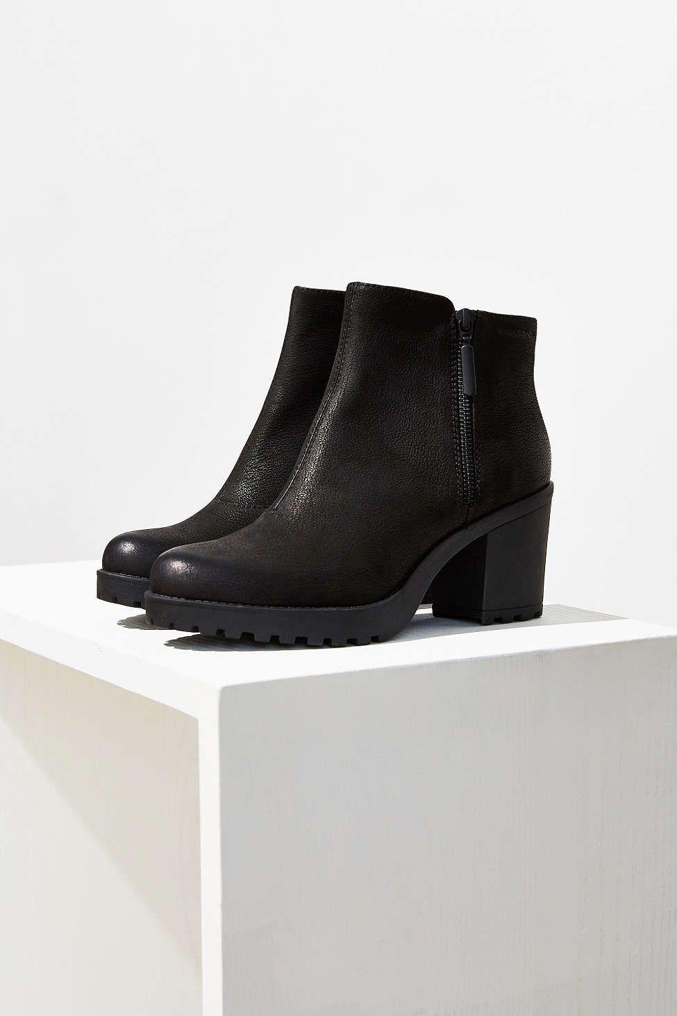4579d9ffedd2fc Vagabond Nubuck Grace Double Zip Ankle Boot