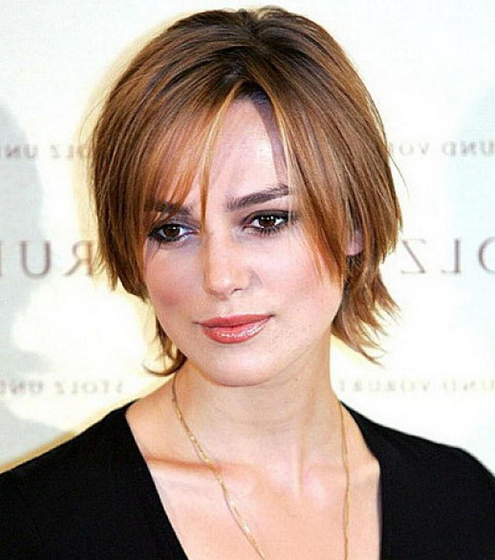 short hairstyles: best short hairstyles for thin hair and round
