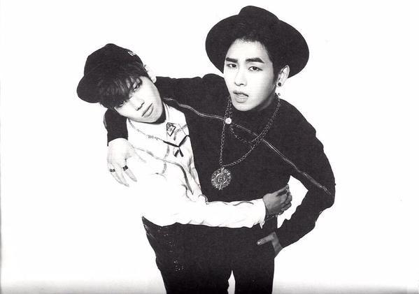 Dongwoo and Hoya ♡