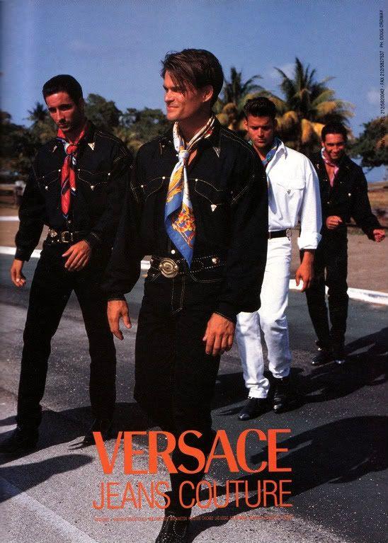 d25c9145d351 Vintage Versace jeans couture advertisement