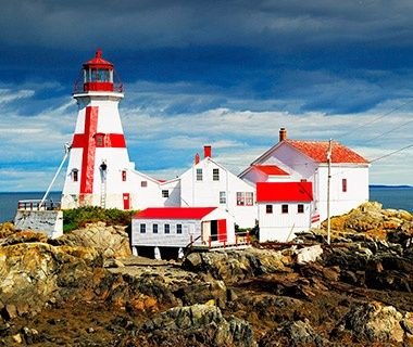 Beautiful Lighthouses in America: East Quoddy