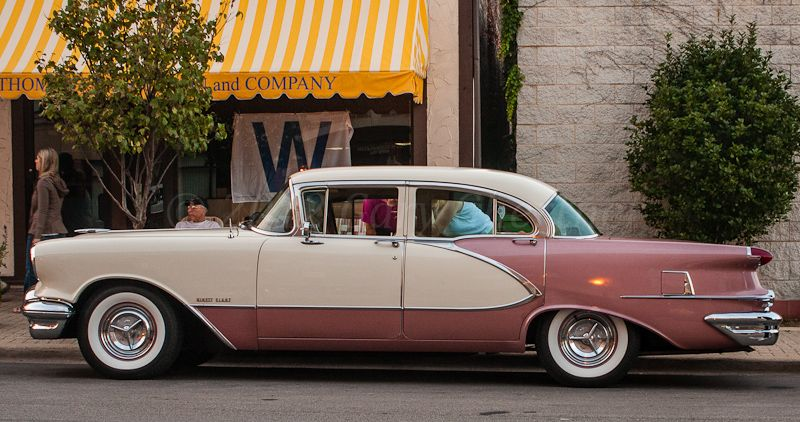 Dave White Chevy >> 1956 Oldsmobile 98 4-Door Sedan | Oldsmobile, Classic cars, Custom cars