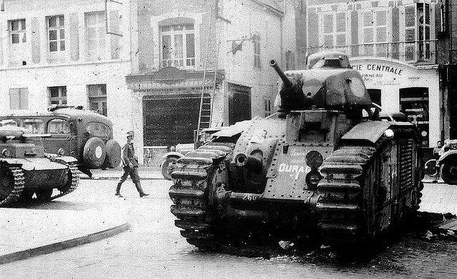 Char B1, France 1940