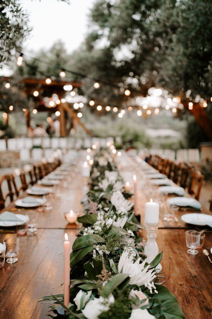 Elegant Tropical Greece Destination Wedding at Agreco Farm | Junebug Weddings #visitgreece