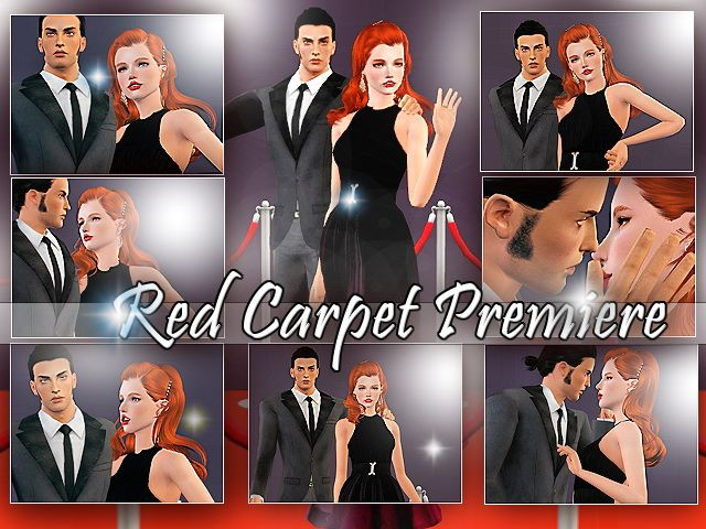 Red Carpet Premiere Poses By Lenina_ Downloads Cc Caboodle Check More At Http