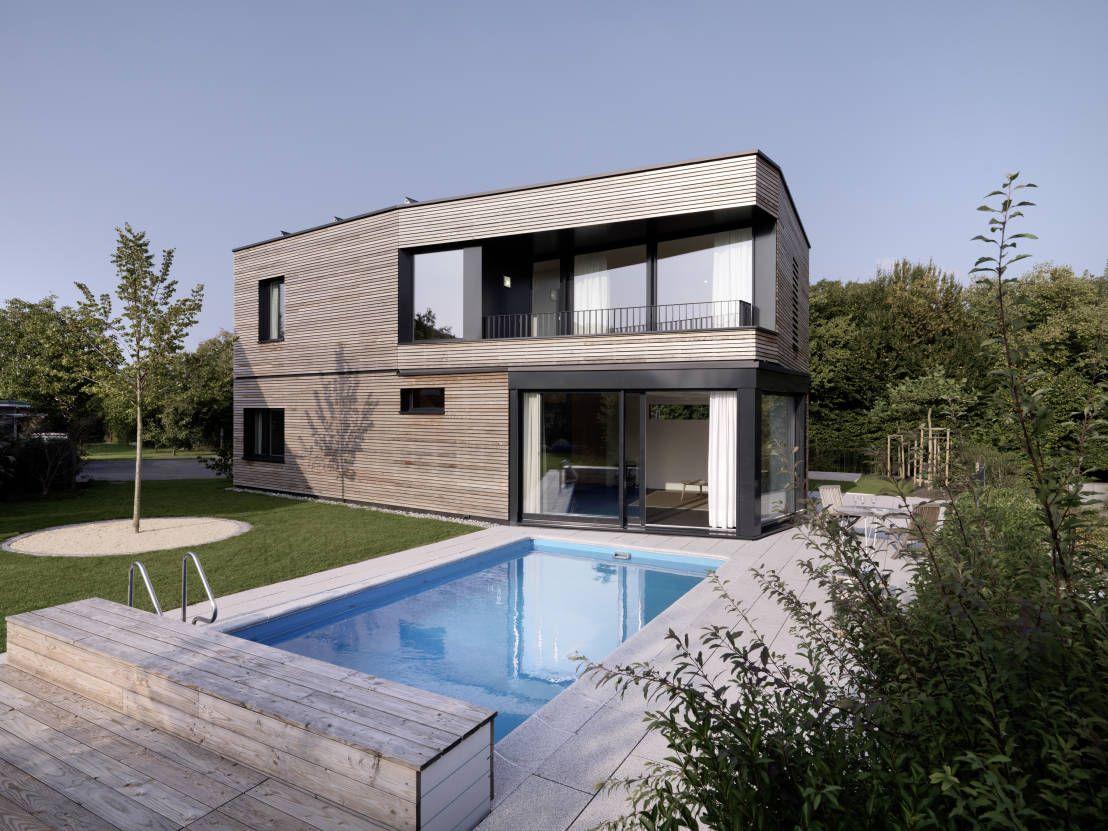 Haus s moderne pools von nimmrichter architekten eth sia ag