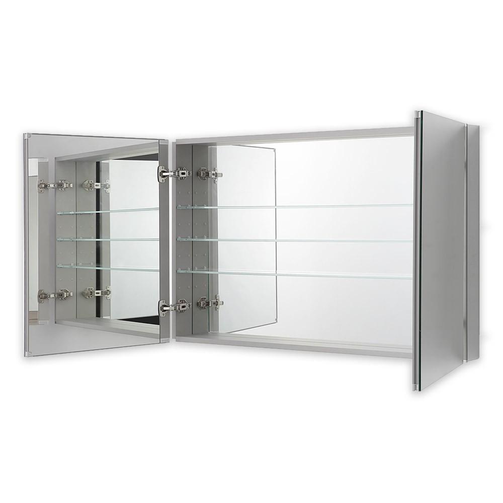 Aquadom Royale 48 X 30 Inch Medicine Cabinet For Bathroom In