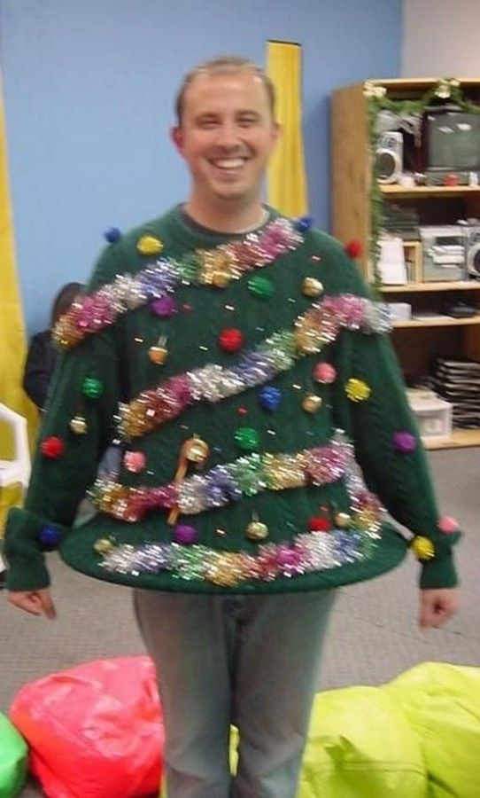 10 DIY Ugly Christmas Sweaters