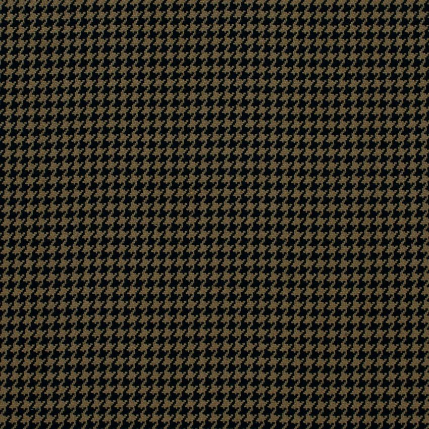 Black Black And Brown Houndstooth Upholstery Fabric Upholstery