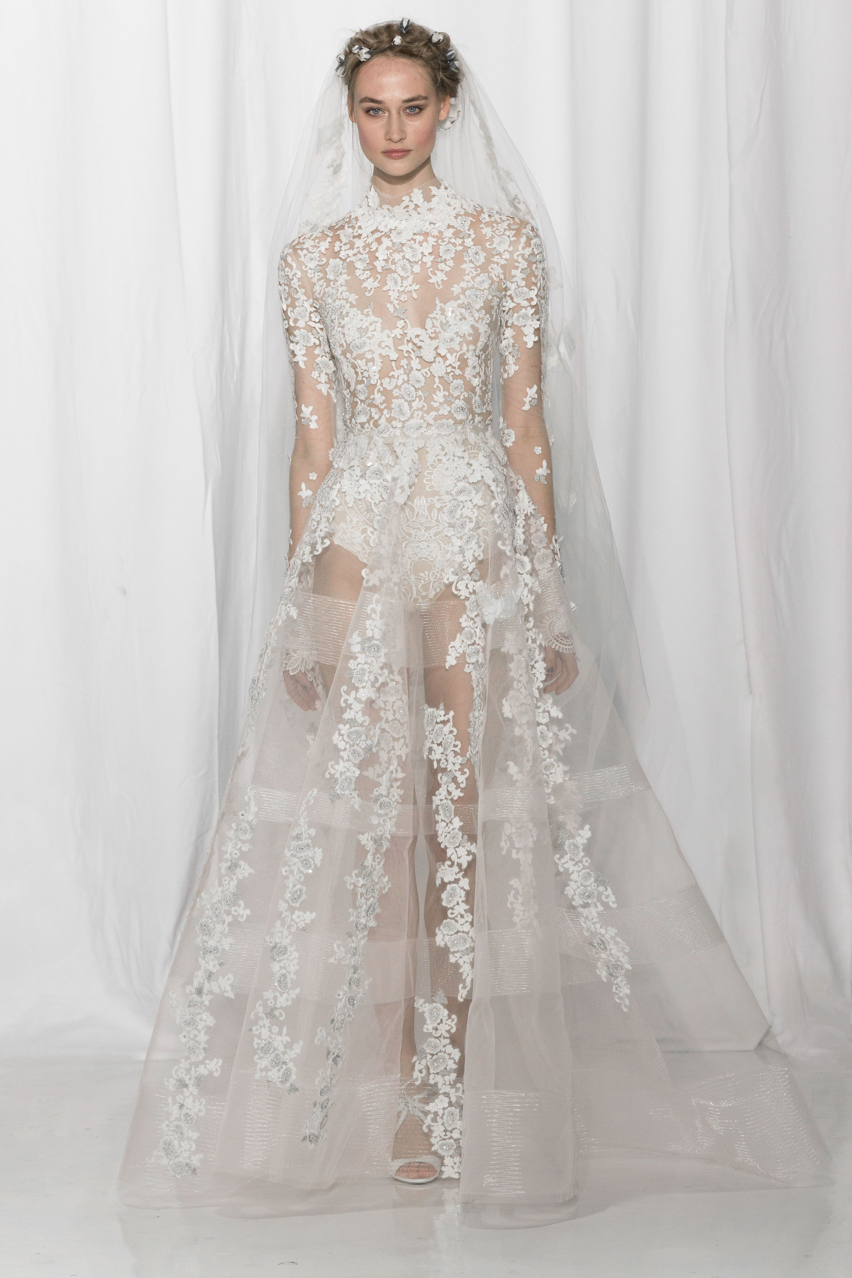 Look couture the dress pinterest reem acra bridal bridal