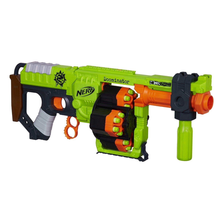 Nerf zombie strike doominator blaster toys