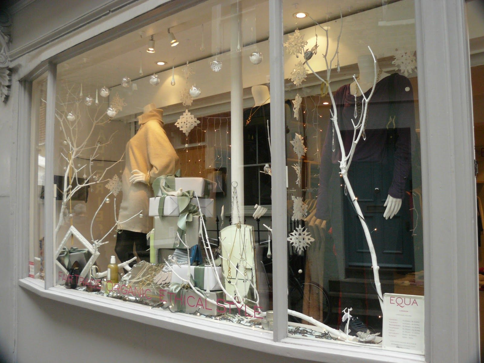 Image detail for clothing ethical style islington for Boutique window display ideas