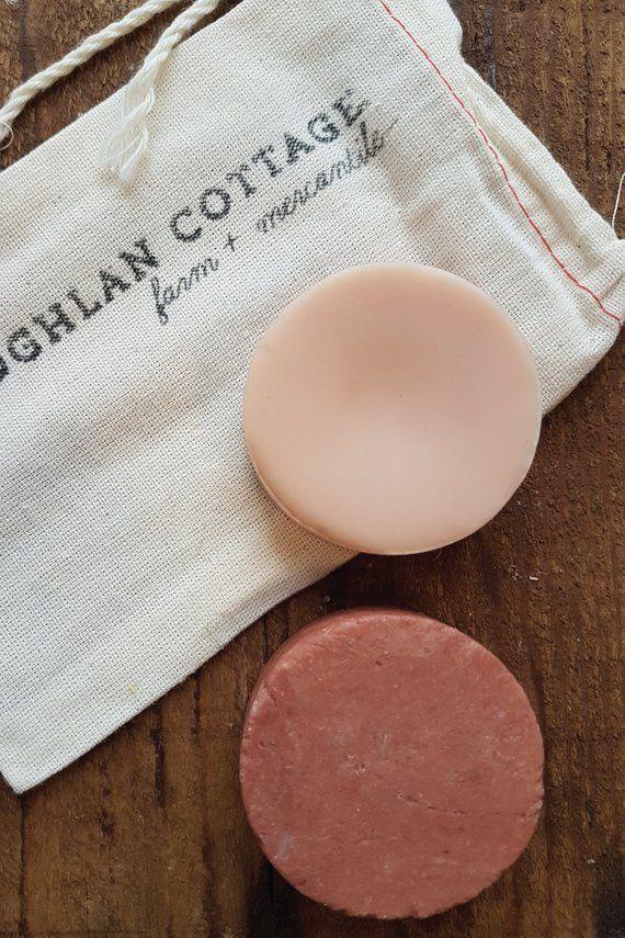 Vegan Solid Shampoo Conditioner Set Shampoo Bar