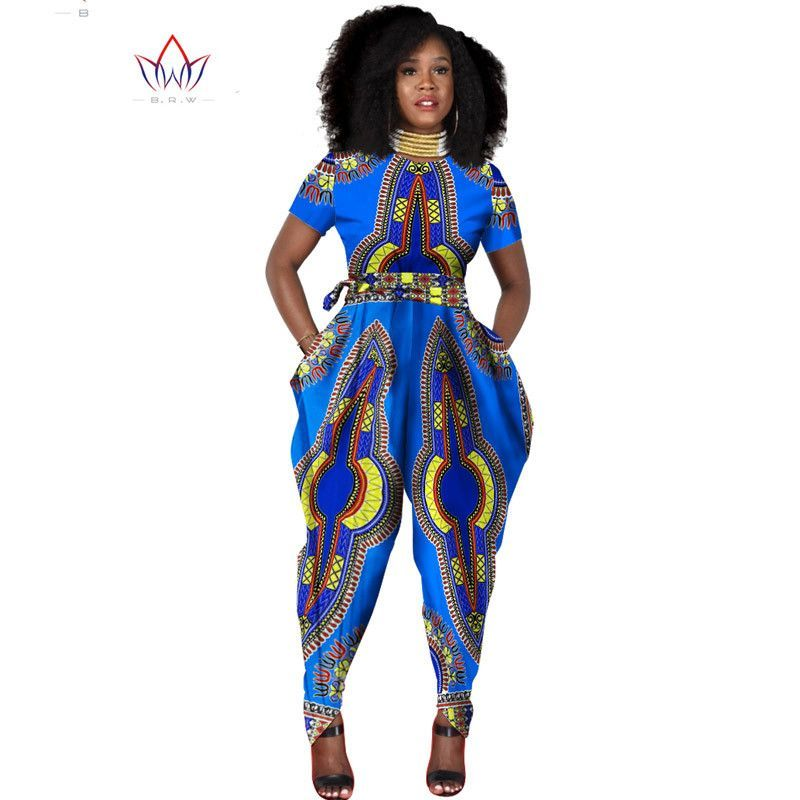 a47f0cc1479 beautiful and cheap african women jumpersuit with print women african  clothing hot selling dashiki jumpersuit WY856