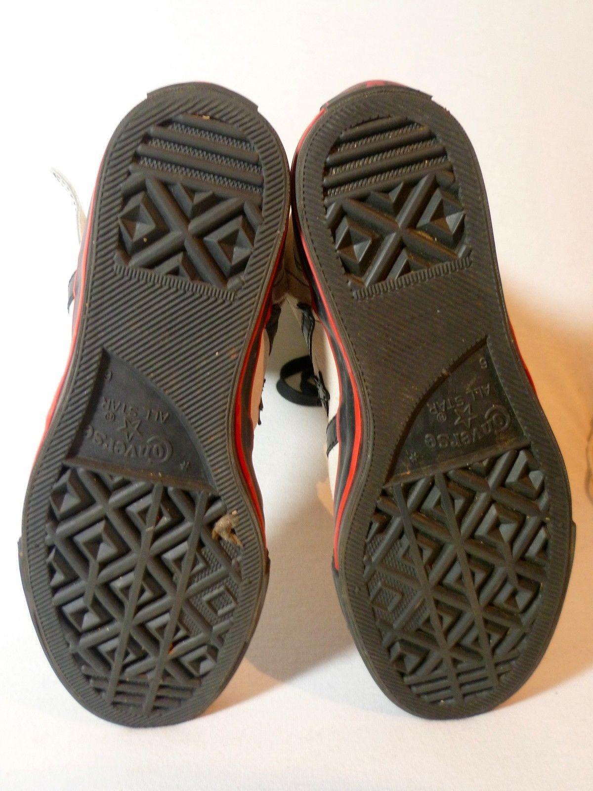 Vtg CONVERSE HighTop SteamPunk Grunge Hipster Court Kicks Sneaker Shoe Mens 6 in…