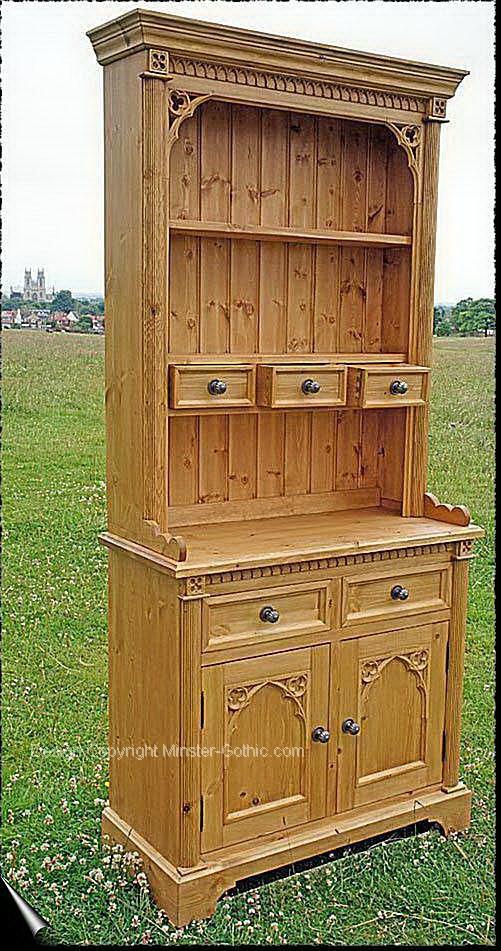 Minster Gothic Range of Gothic Style HandMade Pine