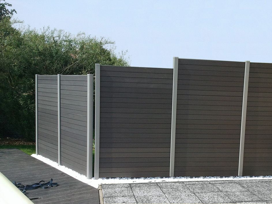 Vallas sinteticas imitacion madera terrazas pinterest - Ocultacion vallas jardin ...
