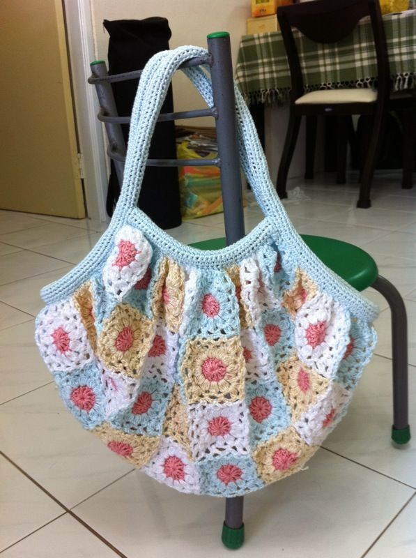 Motif Crochet Bag Pic Gives Me Another Perspective Crochet Bags
