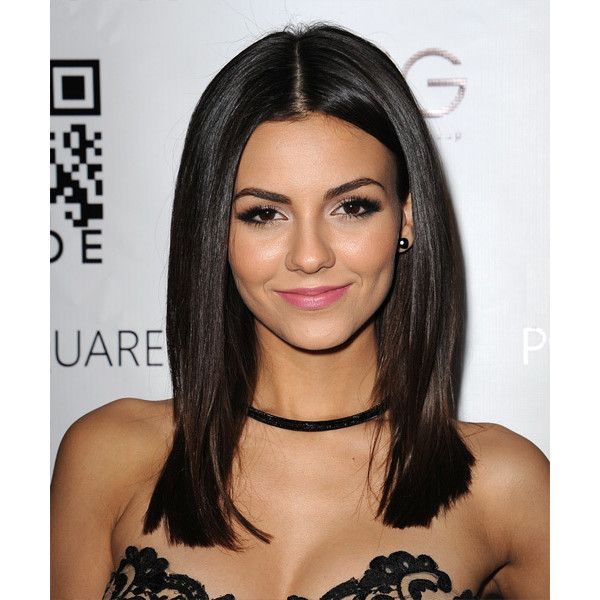 Victoria justice hairstyles liked on polyvore featuring hair people hairstyle faces and girls - Castano vitoria ...