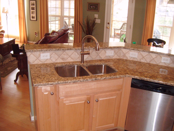 Granite Countertop Support By Rene If You Have A Granite Countertop  Installed That Has An Overhang Most Likely You Will Need Some Type Of  Reinfor