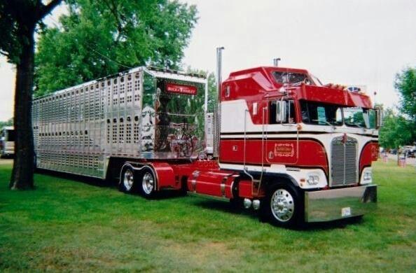 An Iowa Truck With Images Trucks Big Rig Trucks Kenworth Trucks