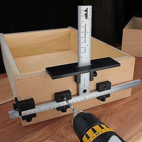 Jig For Installing Cabinet Hardware | online information