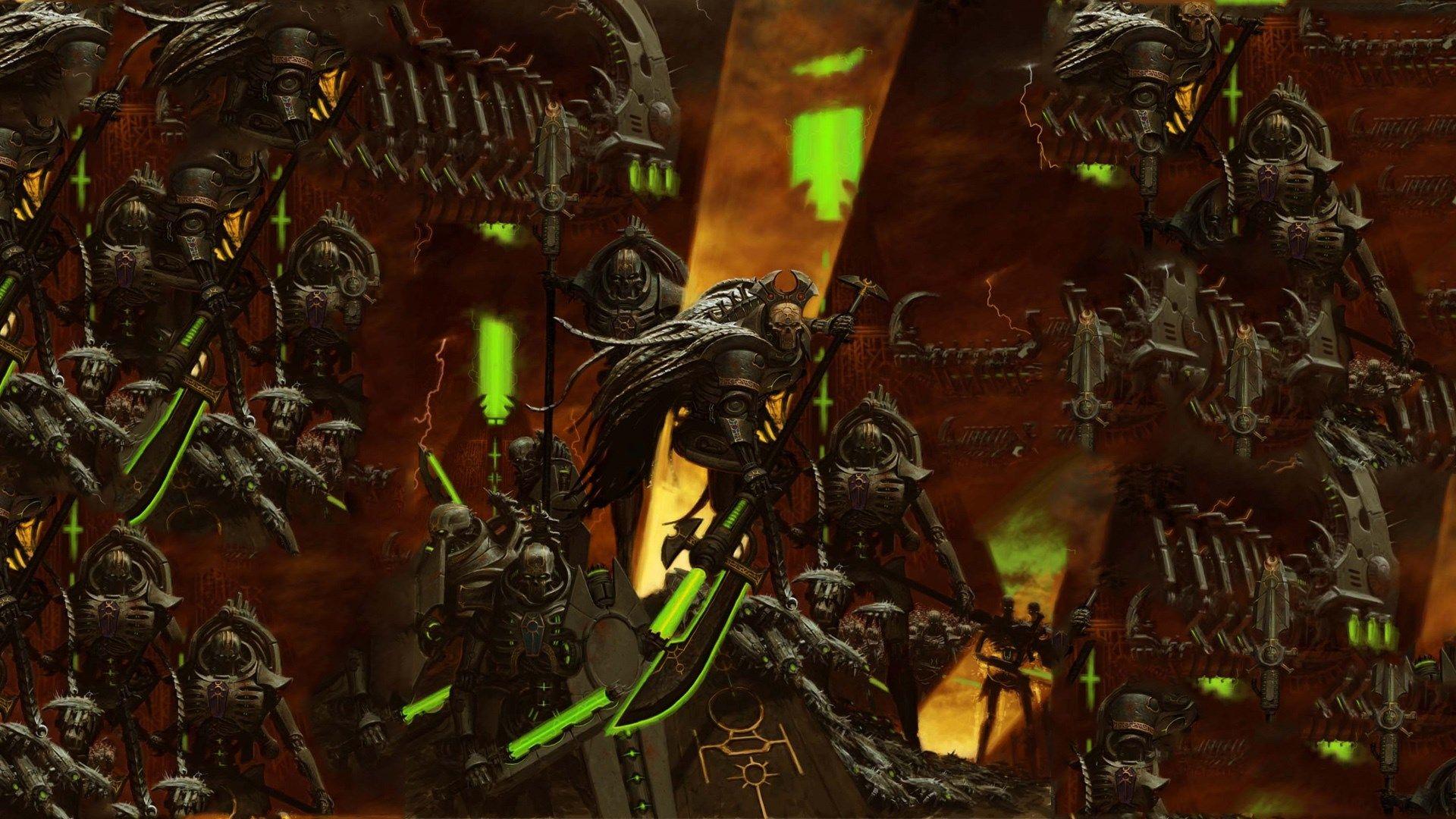 Warhammer Desktop 1920x1080 Warhammer Necron Warhammer 40k